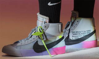 "A Closer Look at Serena Williams' OFF-WHITE x Nike Blazer Mid ""Queen"""