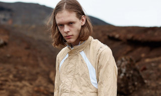Optic-fibre Fabrics Go Hard for SS19 From Icelandic Designer Arnar Mar Jonsson