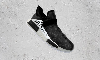 Louis Vuitton Print Takes Over These Custom Human Race NMDs
