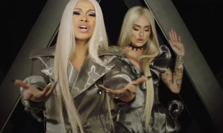 "Cardi B & Kehlani Are Platinum Blonde Bombshells in ""Ring"""