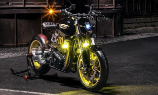 "Triumph's T100 Gets a Futuristic ""Power Street"" Custom Makeover"