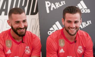 Real Madrid's Benzema & Nacho Talk adidas Parley Kits & Favorite Brandson 'Ball Boyz'