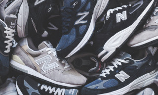 KITH & New Balance Partner On Extensive 99X Classics Collection