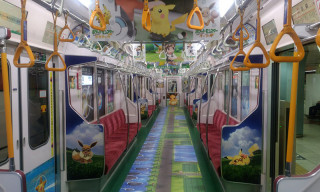 Pokémon Train Surfaces in Japan Ahead of 'Pokémon: Let's Go' Launch