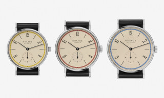 NOMOS Glashütte Debuts Exclusive Tangente Watch Celebrating a Century of Bauhaus