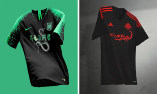 This Designer Mashed Up Soccer Jerseys With Popular Hip-Hop Albums