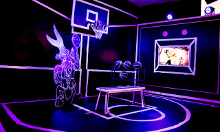 Josh Vides Opens Galactic 'Space Jam' Exhibit in LA