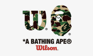 BAPE Follows Supreme's Lead With a Wilson Tennis Collab