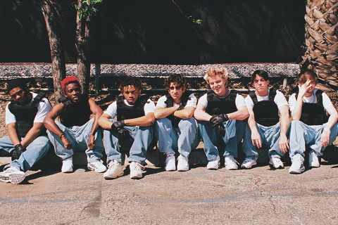 BROCKHAMPTON Posters for 'The Best Years of Our Lives' Spotted
