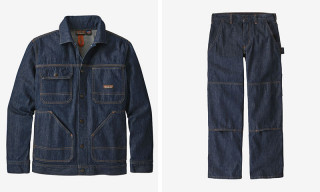 Patagonia Debuts Sustainable Steel Forge Denim Jacket & Pants