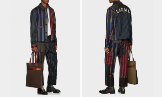 This $2,500 Loewe Patchwork Suit Is Actually Fire
