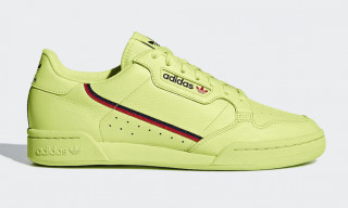 "adidas' Continental ""Semi Frozen Yellow"" & ""Clear Pink"" Are Available Now"