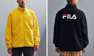 These Super Cozy Sherpa Sweatshirts from FILA Are Must-Cops this Fall