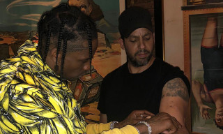 Watch Travis Scott Get Amazed by David Blaine's Magic Trick