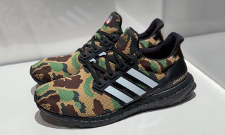 An Official Look at the BAPE x adidas Ultra Boost