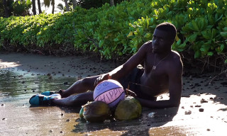 """Sheck Wes Channels 'Cast Away' in His Video for """"Chippi Chippi"""""""