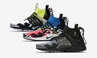 Patta Officially Announces the ACRONYM x Nike Air Presto Mid
