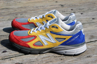 cheap for discount 94a8a 6151e 50% off new balance 990 yellow black 1095f ef407