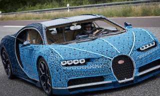 LEGO Built a Real, Drivable Bugatti Chiron Using More Than 1 Million Pieces