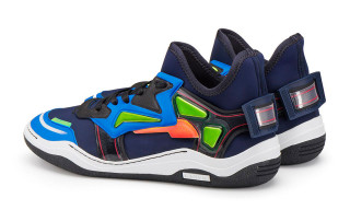 Lanvin's Neoprene Diving Trainers Mix Tech and Sportswear Influences