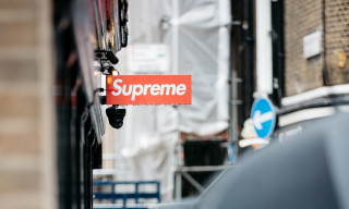 Supreme London Offers Reward for IDing Man Who Damaged Store Sign