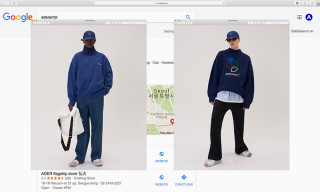 "ADER Error Googles Itself for ""A Web Space"" FW18 Campaign"
