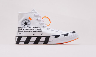 The New OFF-WHITE x Converse Chuck 70 Drops Today