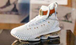 Harlem's Fashion Row Gives the LeBron 16 A Luxe Makeover