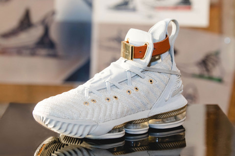 Harlems Fashion Row Gives the LeBron 16 A Luxe Makeover