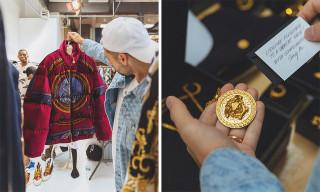 Ronnie Fieg Reveals KITH x Versace Collab