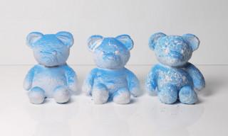 Daniel Arsham Wants You to Break His CRACKED BEAR Sculpture
