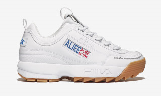 ALIFE & FILA's New Collaboration Is a Big Gum-Bottomed Unit