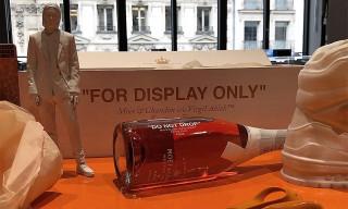Virgil Abloh Reveals Moët & Chandon Collab Bottle