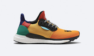 The Pharrell Williams x adidas SOLARHU Runner Drops Today