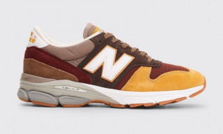 "New Balance's Hybrid M7709 Returns in ""Burgundy"" & ""Grey"" Colorways"