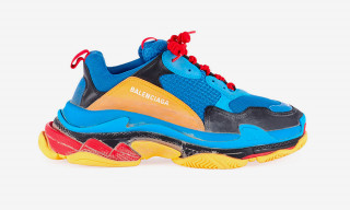 New Balenciaga Triple S Debuts in Bold Blue & Orange Colorway