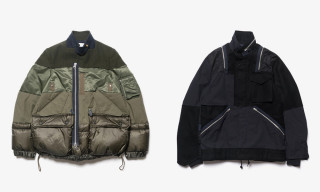 sacai Drops Patchwork Puffer Styles For FW18