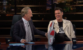 "Jim Carrey Flexes ""Freedom-Friendly"" Nikes in Support of Colin Kaepernick"