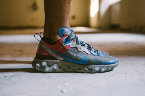 big sale 2aa79 d0926 Here s What the UNDERCOVER Nike React Element 87s are Reselling For