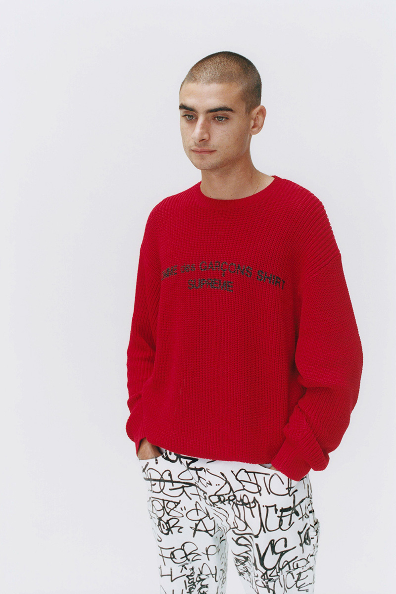 5aaa17706d84 Today s Supreme x COMME des GARCONS Drop Features the Work of a ...