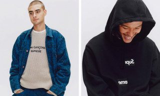 The FW18 COMME des GARÇONS SHIRT x Supreme Collab Is Re-Releasing at DSMLA