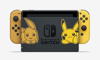 Nintendo Unveils $400 Pikachu & Eevee Switch Bundles