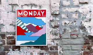 Parra & Case Studyo Release New 'MONDAY' Metal Sign