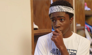 'Stranger Things' Star Caleb McLaughlin Talks Kicks and NBA on 'Sneaker Shopping'