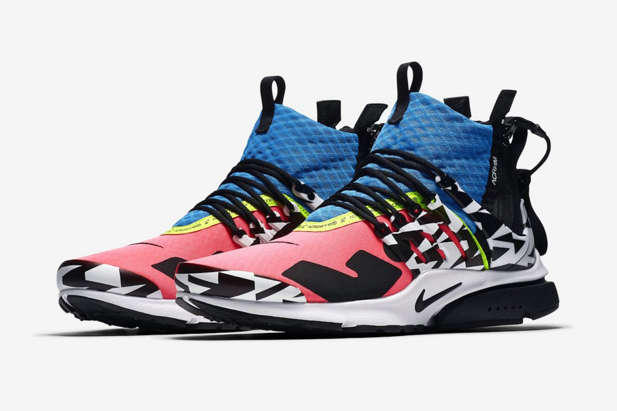 b7229267 Set to drop on September 20, #teamearly iterations of ACRONYM x Nike's  latest Air Presto releases have already become available on resale site  StockX.