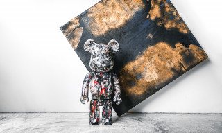 Medicom Toy Honors Jackson Pollock With Second Be@rbrick 1000% Collectible