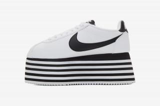COMME des GARÇONS x Nike Cortez Platform  Release Date 96c1e4ed54