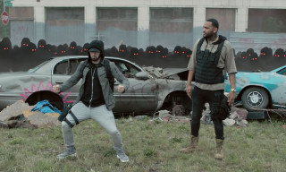 Eminem & Joyner Lucas Dance With Copycats in Post-Apocalyptic 'Lucky You' Video