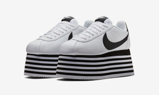 An Official Look at COMME des GARÇONS' Nike Cortez Platform