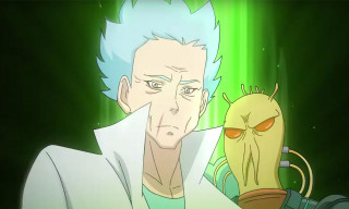 'Rick and Morty' Is Imagined as a Japanese Anime in New Concept Video